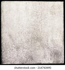 Medium format film frame, grain textured background