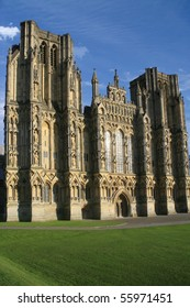 Medival cathedral, Wells, England