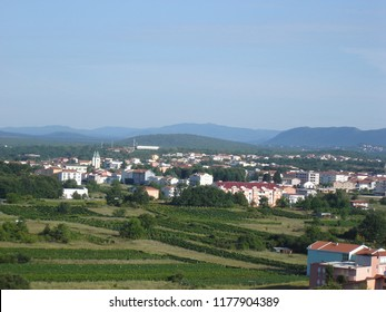 Medjugorje view from hill.