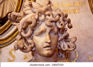 Medusa in Capitol museum, Rome