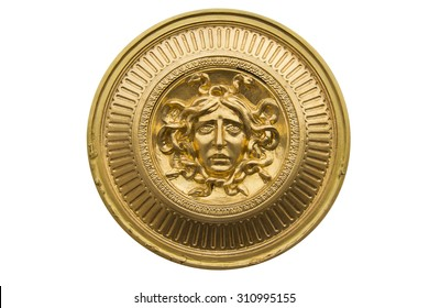 Medusa gold shield
