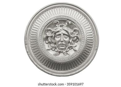 Medusa silver shield