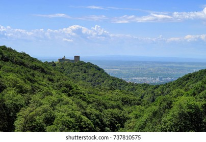 Medvedgrad is a medieval fortified town located on the south slopes of Medvednica mountain, approximately halfway from the Croatian capital Zagreb to the mountain top Sljeme