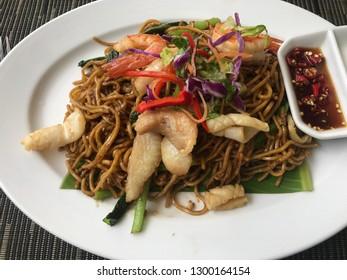Mee Goreng (Malaysian Noodles)