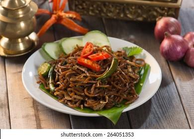 mee goreng mamak, popular malaysian food