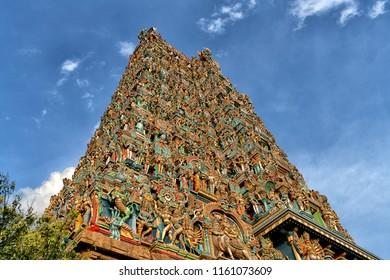 Meenakshi Temple or Minakshi-Sundareshwara Temple, Madurai , Tamil Nadu, South India
