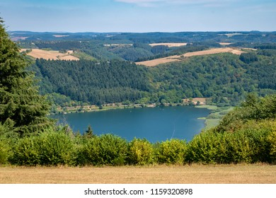 Meerfeld Meerfelder Maar Eifel summer landscape Germany