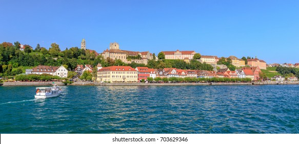 Meersburg City Panorama from the Lake Constance