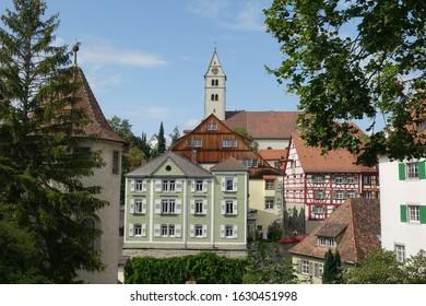 Meersburg, Germany with catholic church