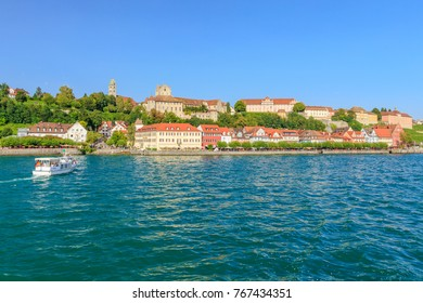Meersburg at the Lake Constance