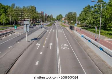 Meester G. Groen van Prinstererlaan Street At Amstelveen The Netherlands 2018
