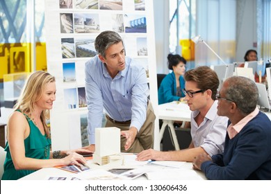 Meeting In Architects Office