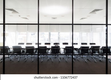 Meeting boardroom in high class office