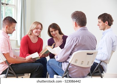 Meeting Of Book Reading Group