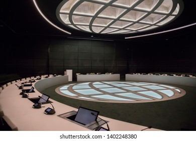 meeting center in government international organisation, the Hague, Netherlands