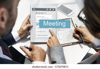 Meeting Discussion Conversation Group Word