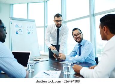 Meeting of economists