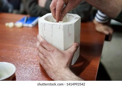 Potter Ceramist Images, Stock Photos & Vectors   Shutterstock