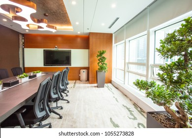 Meeting room in modern style company