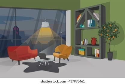 Meeting Room Vector Background