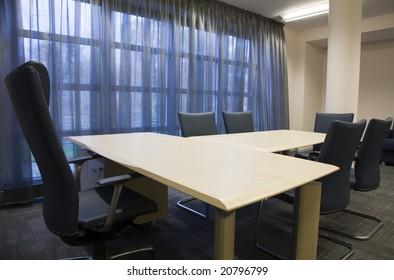 meeting room with window