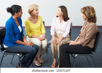 Meeting Of Women's Support Group