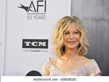 Meg Ryan at the AFI Life Achievement Award Gala Tribute To Diane Keaton held at the Dolby Theatre in Hollywood, USA on June 8, 2017.