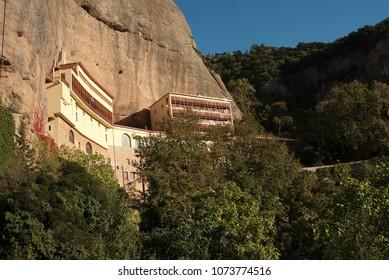 Mega Spilaio Monastery in Kalavryta Greece 2017