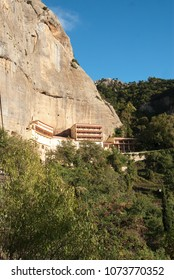 Mega Spilaio; one of the most historical monasteries in Kalavryta Greece 2016