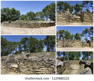 megalithic site of Saint Eugene, Laure Minervois, France, Europe
