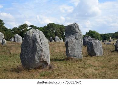Megaliths at Carnac, France