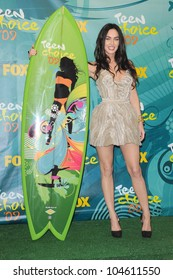 Megan Fox in the press room at Teen Choice Awards 2009. Gibson Amphitheatre, Universal City, CA. 08-09-09