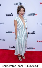 Megan Rosati attends 2019 Etheria Film Night at The Egyptian Theatre, Hollywood, CA on June 29, 2019