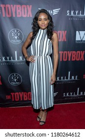 """Megan Tandy attends  Skyline Entertainment's  """"The ToyBox"""" Los Angeles  Premiere at Laemmle's NoHo 7, North Hollywood, California on September 14th, 2018"""