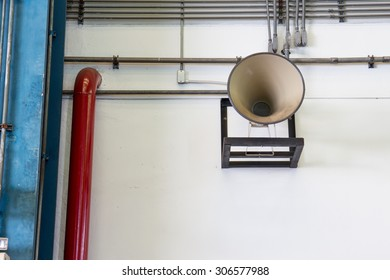 Megaphone for announce in wide area