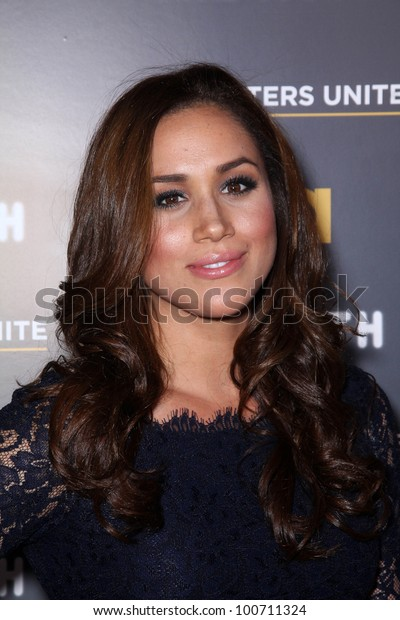 """Meghan Markle at USA Network and Moth present """"A More Perfect Union: Sories of Prejudice and Power,""""  Pacific Design Center, Los Angeles, CA 02-15-12"""