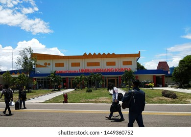 Mehang Kunda Airport, located in Waingapu City, East Sumba, Sumba Island - 24 Oct. 2017