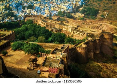 Mehrangad Fort, Jodhpur city, Rajasthan, India