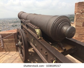 Mehrangarh fort cannons