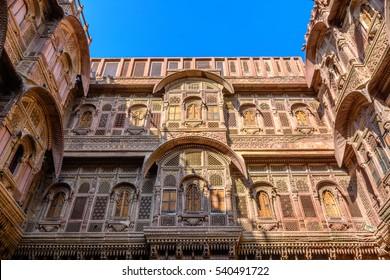 Mehrangarh Fort's facade