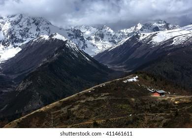 Meili snow mountain, Deqin, Yunnan, China