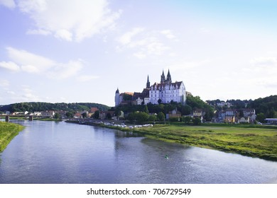 Meissen with the Albrechtsburg and cathedral