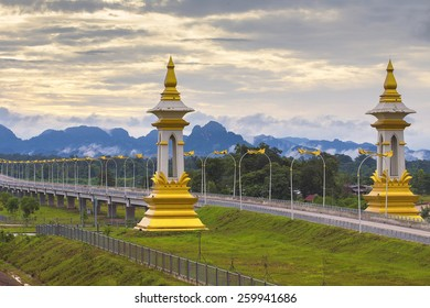 Mekong River III Bridge,Nakhon Phanom,Thailand