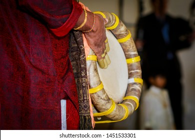 Melam A musical instrument played during South Indian wedding. This is one type of Indian drum in north India. It is played with thimbles, tacks, and sticks.
