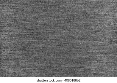 Melange gray woolen knitted fabric as background