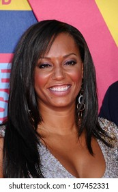 Melanie Brown  at the 2008 MTV Video Music Awards. Paramount Pictures Studios, Los Angeles, CA. 09-07-08