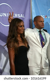 Melanie Brown and Stephen Belafonte at the NBC Summer Press Tour Party, Beverly Hilton Hotel, Beverly Hills, CA. 07-30-10