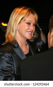 """Melanie Griffith at the tribute show """"Hollywood Salutes June Allyson"""". The El Portal Theatre, Los Angeles, California. November 2, 2006."""