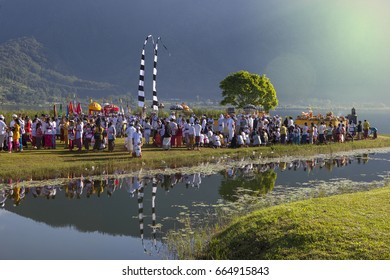 Melasti is a Hindu Balinese purification ceremony and ritual, which according to Balinese Calendar is held several days prior to the Nyepi holy day. 28 March 2014