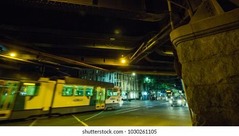 Melborurne Night street_Green _Photo by 768